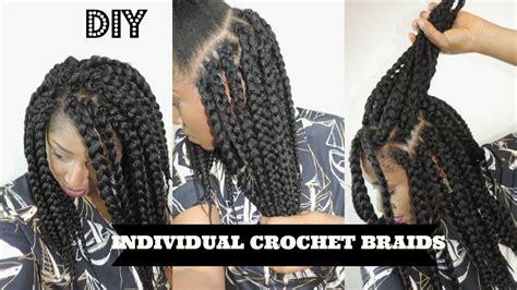 box braids vs individuals diy individual crochet box braids no cornrows needed