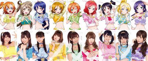 anime comedy live idolku biodata tentang karakter live beserta seiyu