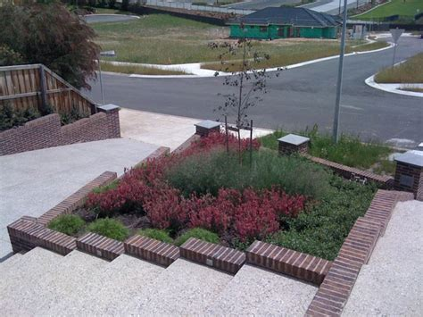 contemporary native australian garden contemporary landscape melbourne by bespoke garden