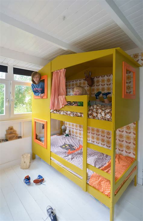 Ikea Hack Bunk Bed by 20 Awesome Ikea Hacks For Kids Beds Hative
