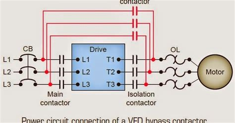 3 vfd byp contactor wiring diagram wiring diagram with