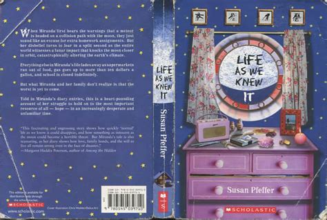 themes of the book life as we knew it life as we knew it susan beth pfeffer