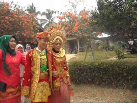 Wedding Clip Padang by Tari Piring Jorong Kung Surau Dharmasraya Doovi