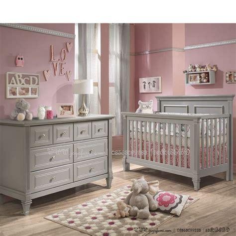 Tempat Tidur Bayi Lazada tempat tidur bayi minimalis warna abu abu perabot anak mebel anak furniture anak perabot