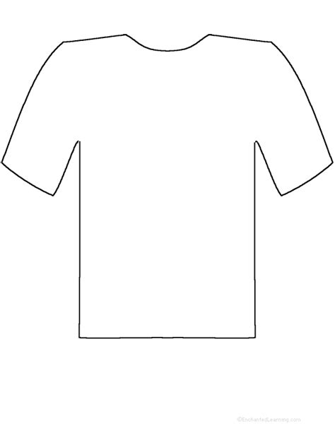 t shirt pattern printable t shirt outline printable clipart best
