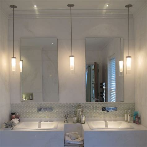 Lovely Walmart Bathroom Light Fixtures #1: Appealing-ceiling-mounted-bathroom-light-fixtures-bathroom-lights-over-mirror-hanging-lamps-and-mirror-and-sink-faucet-and-soap-and-white-wall-and-towel-and-bottle.jpg