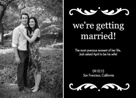 Wedding Announcements Ideas by 29 Best Wedding Announcement Ideas Images On