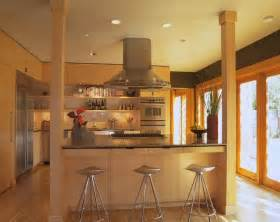 kitchen island post contemporary kitchen by brand architecture