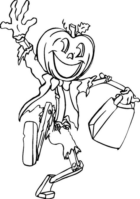 free coloring pages of halloween fun