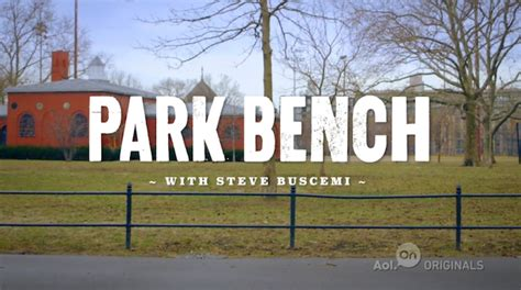 park bench with steve buscemi watch it park bench with steve buscemi on aol