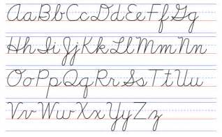 time to bring back cursive writing to schools