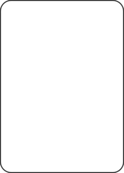 blank card template transparent blank cards clipart best