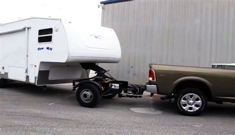 5th wheel tow dolly tow all dolly advanced towing system for hauling 5th