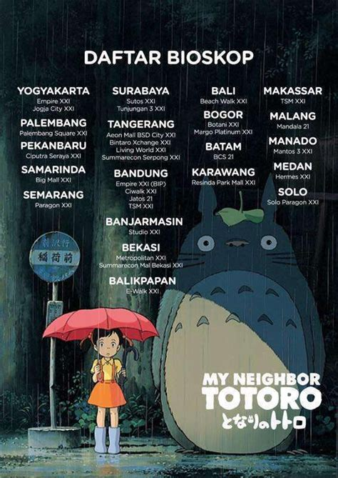 daftar film ghibli my neighbor totoro turut hadir di cgv cinemas indonesia