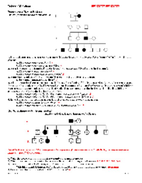 Genetics Pedigree Worksheet Answers by 15 Best Images Of Number Five Tracing Worksheet