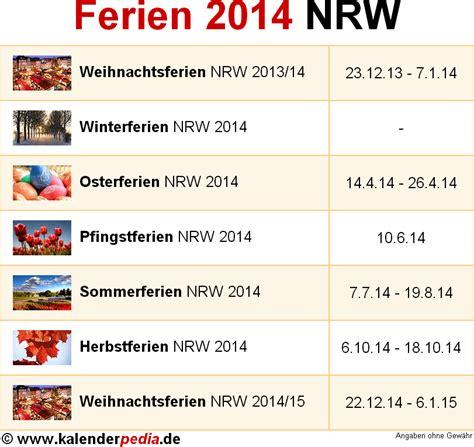wann sind herbstferien in niedersachsen ferien nordrhein westfalen nrw 2014 220 bersicht der