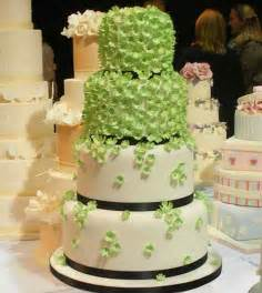 wedding cake green green wedding cake decoration idia trendy mods