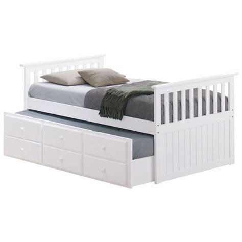 pull out trundle bed marco island contemporary kids pull out trundle bed