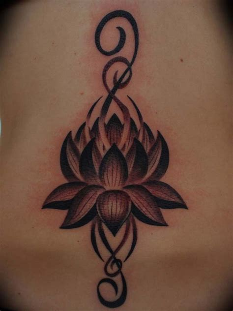 tattoo tribal lotus 32 awesome black lotus tattoos