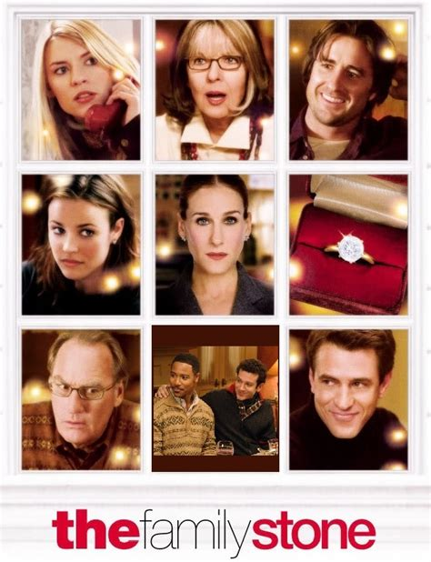 luke wilson christmas movie claire danes julie morton diane keaton sybil stone