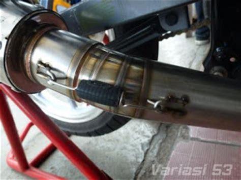 Cld Knalpot C1 Silencer Bulat Nex toko variasi 53 aksesoris motor variasi motor