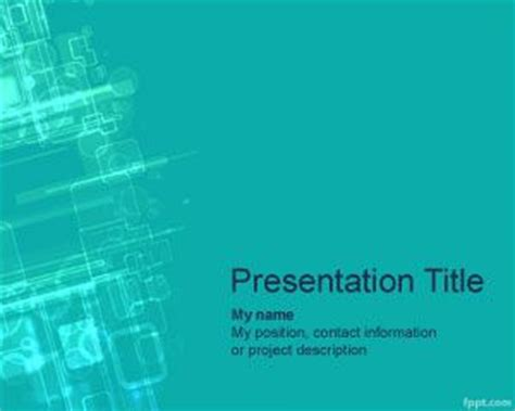 ppt templates free download nanotechnology cyberspace powerpoint template