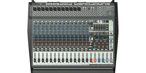 Mixer Behringer Pmp6000 behringer pmp6000 powered audio mixer