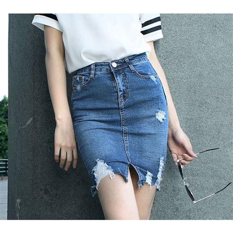 fashion denim skirts dresscab