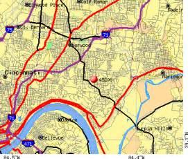 Cincinnati Zip Code Map by 45208 Zip Code Cincinnati Ohio Profile Homes