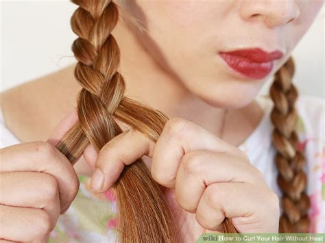 cute ways to curl ur hair with a wand 8 ways to curl your hair without heat wikihow