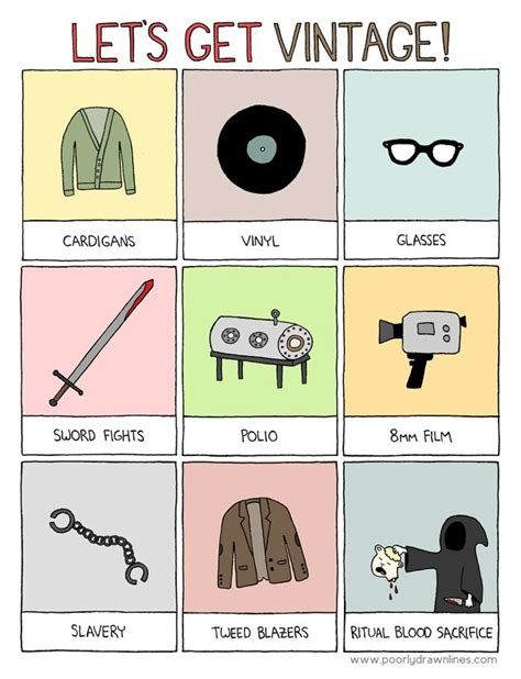 libro poorly drawn lines good vintage the slippery slope of hipsterdom top 100 webcomics hipster haha and