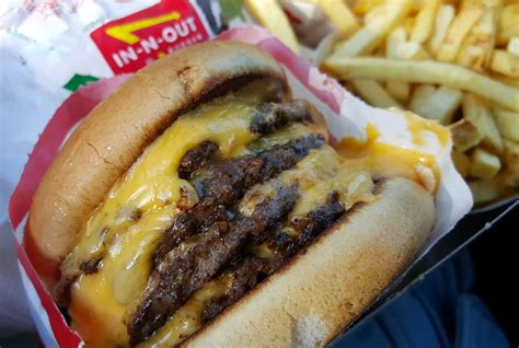 In N Out Burger in Las Vegas is the best cheap option