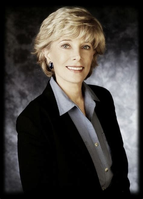 is leslie stahl s hair a wig leslie stahl celebrities i ve met seen worked with