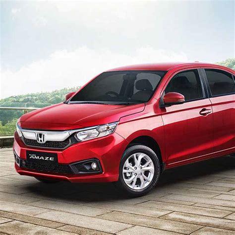 honda small car all new honda amaze platform to be used for new cars