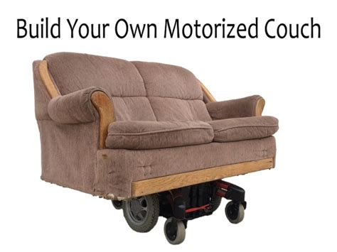 build your own loveseat build your own motorized couch for less than 150 by nick