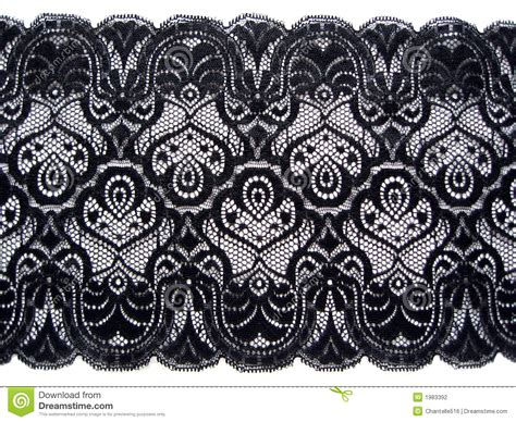 black lace stock photography image 1983392