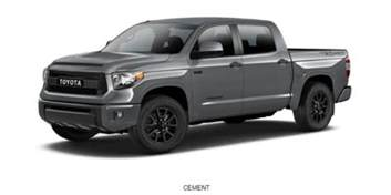 Toyota Tundra Colors 2018 Toyota Tundra Gets New Trd Sport Package New Cars