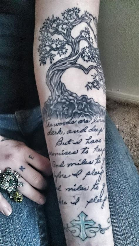 robert frost tattoo robert tattoos contrariwise literary tattoos