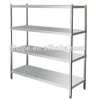 display stand metal display rack kitchen stainless steel