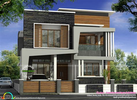 40x50 house plans 40x50 modern kerala home architecture home design decor