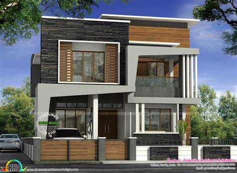40x50 house plans 40x50 modern kerala home architecture home design decor