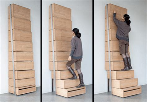 Stair Drawer System by 18 Unique And Creative Dressers