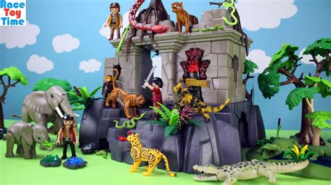 playmobil safari huis playmobil treasure temple adventure playset with jungle
