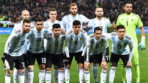 argentina fifa team world cup 2018