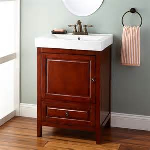 Cherry Bathroom Vanity 24 Quot Owens Vanity Light Cherry Bathroom