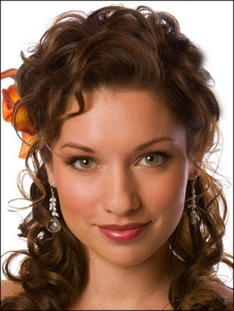 hairstyles for medium length curly my hair style top 9 easy stylish updos for curly hair