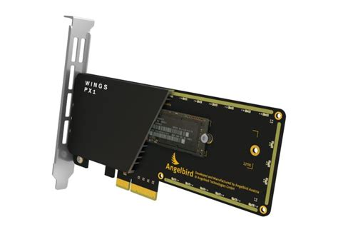 Ssd Heat Sink the angelbird wings px1 m 2 adapter review do m 2 ssds