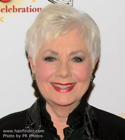 80year old hair style 80 years old shirley jones practical pixie hairstyle for