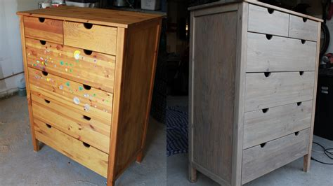 sanding a dresser to stain battle dresser part 2 heavymod