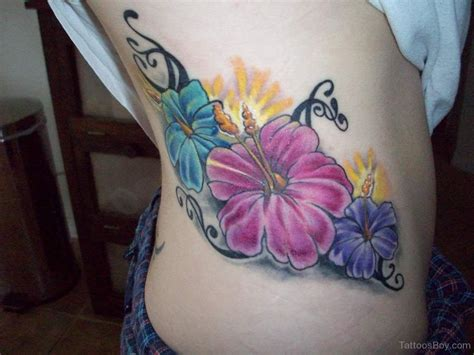 flower rib tattoos flower tattoos designs pictures page 16